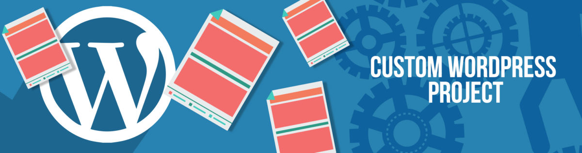 Custom WordPress Project Banner