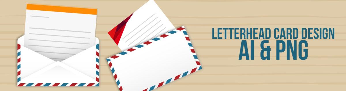 Letterhead Card Design Banner