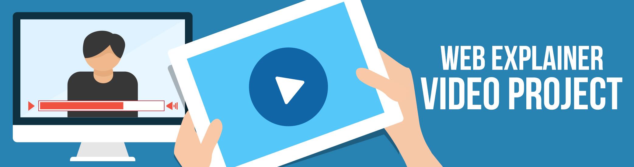 Web Explainer Video Project Banner
